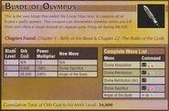 Blade of Olympus 1