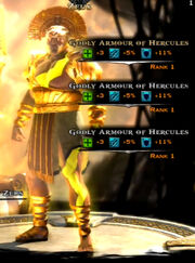 Godly Armor of Hercules