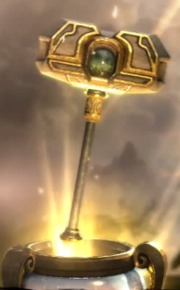 Champion's Hammer in game