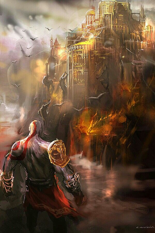 Olimpo god of war wiki fandom powered by wikia for God of war 3 jardines del olimpo