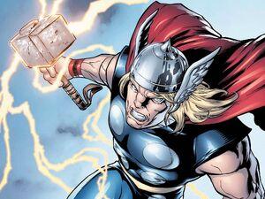 Cómic-de-superhéroes-thor