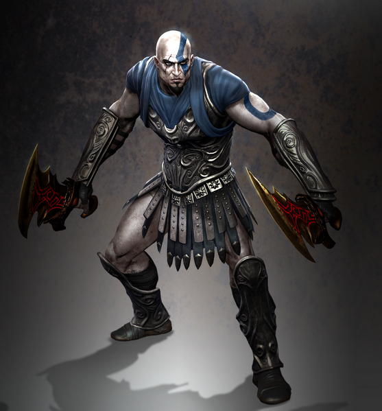 Kratos God Of War Costume purchase the costume from