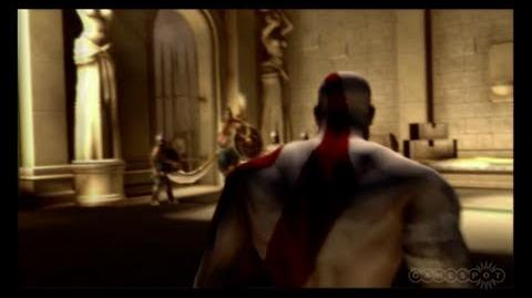 God of War Persian King fight