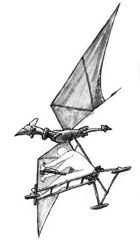 File:Concept Art - Godzilla vs. MechaGodzilla 2 - Pteranodon Robot 2.png