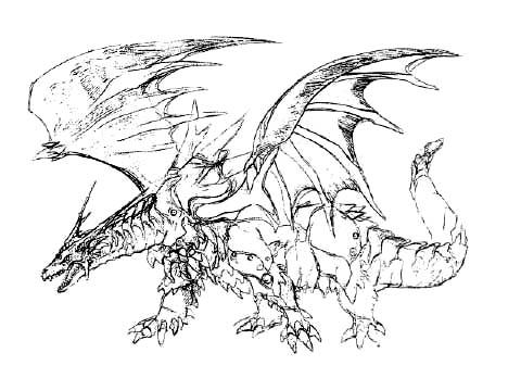 File:Concept Art - Rebirth of Mothra - Desghidorah 16.png