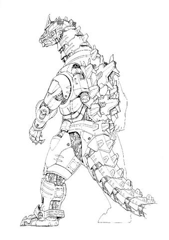 File:Concept Art - Godzilla Against MechaGodzilla - Kiryu 36.png