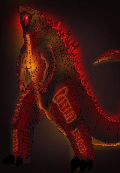 Burning godzilla 2014 O30