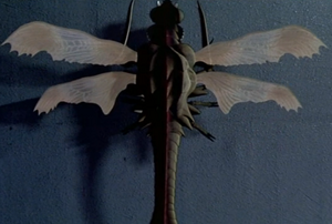 The ShodaiMeganura as it is seen in Godzilla vs. Megaguirus
