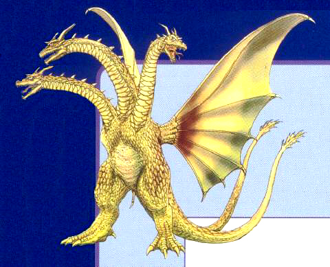 File:Concept Art - Rebirth of Mothra 3 - Cretaceous King Ghidorah 1.png
