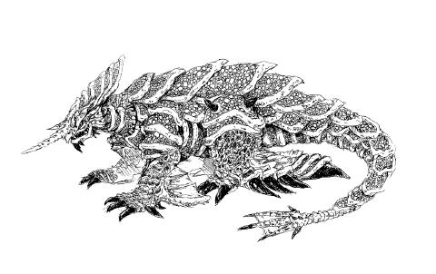 File:Concept Art - Rebirth of Mothra 2 - Dagahra 20.png