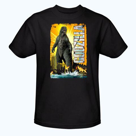 File:Godzilla 2014 Merchandise - Clothes - Godzilla Comic Style Black Shirt.jpg