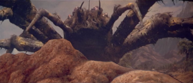 File:All Monsters Attack - Kumonga appears via stock footage 3.png