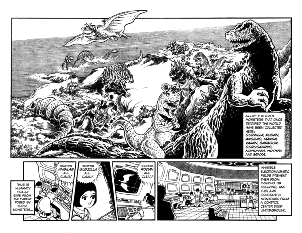 File:Destroy All Monsters manga- intro page.png