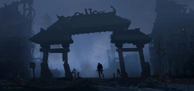 File:Concept Art - Godzilla 2014 - Dragon Arch.jpg