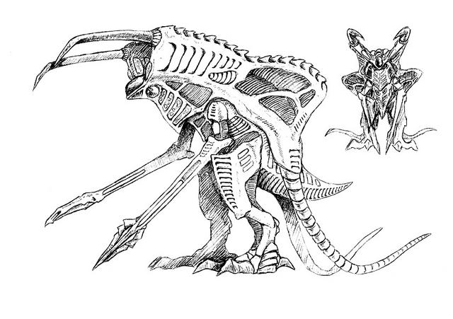 File:Concept Art - Godzilla 2000 Millennium - Orga 88.png