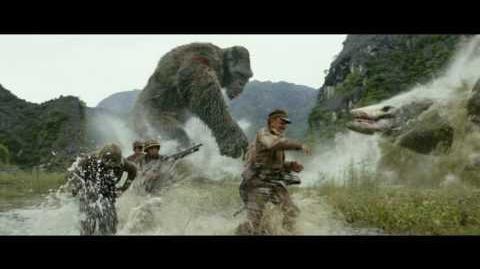 """KONG SKULL ISLAND - """"Monster Battle"""" Clip"""