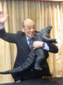 Haruo Nakajima With Giant Jakks Pacific LegendaryGoji