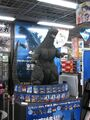 FinalGoji in a suit display thing