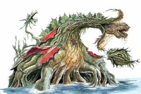 File:Concept Art - Godzilla vs. Biollante - Biollante 16.png
