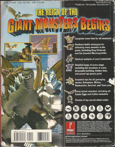 File:Godzilla Destroy All Monsters Melee Prima Strategy Guide Back.jpg