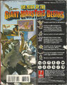 Godzilla Destroy All Monsters Melee Prima Strategy Guide Back