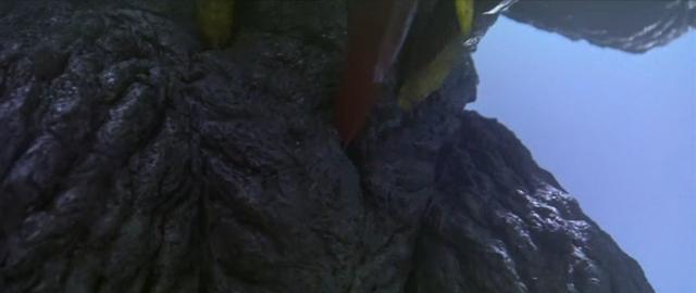 File:Godzilla vs. Megaguirus - Megaguirus stings Godzilla.png