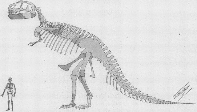 File:T-rex old posture.jpg