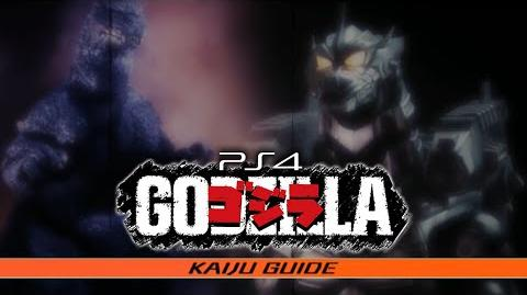 PS4 All KAIJU GUIDE Entries - GODZILLA