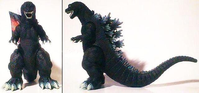 File:Bandai Japan 2001 Movie Monster Series - Godzilla 2001.jpg