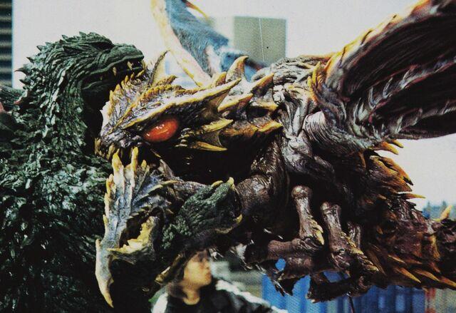 File:GXM - Megaguirus Bites Godzilla.jpg