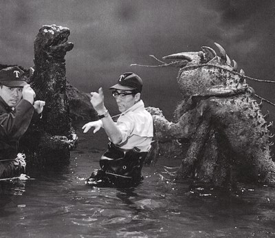 File:Godzilla vs Ebirah Behind Scenes.jpg