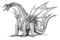 Concept Art - Rebirth of Mothra - Desghidorah 12