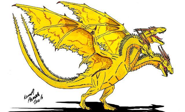 File:Neo Daikaiju KING GHIDORAH by Dino master.jpg