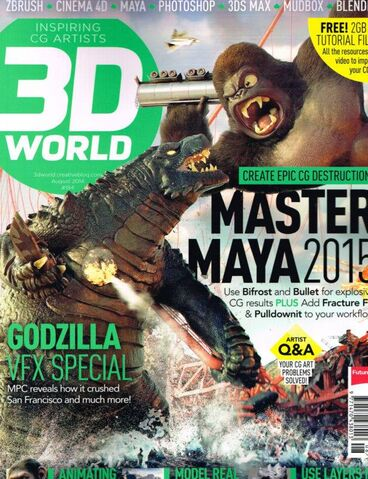 File:3D World Magazine - Godzilla VFX Special.jpg