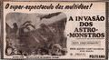 Invasion of Astro-Monster Poster Brazil 2