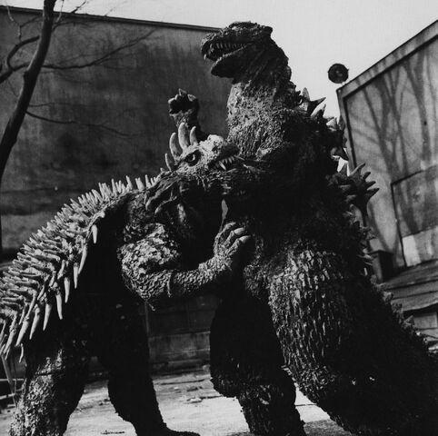 File:GRA - Anguirus Bites Godzilla's Arm Off Set.jpg