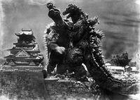 Godzilla vs Anguirus Castle