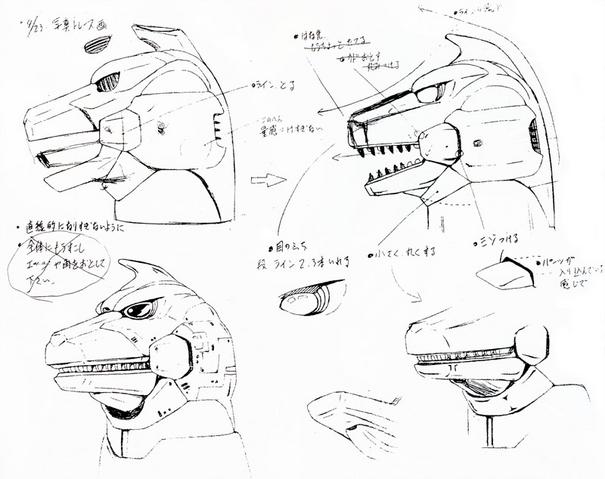 File:Concept Art - Godzilla vs. MechaGodzilla 2 - MechaGodzilla Head 3.png
