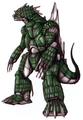 Concept Art - Godzilla Against MechaGodzilla - Kiryu 1
