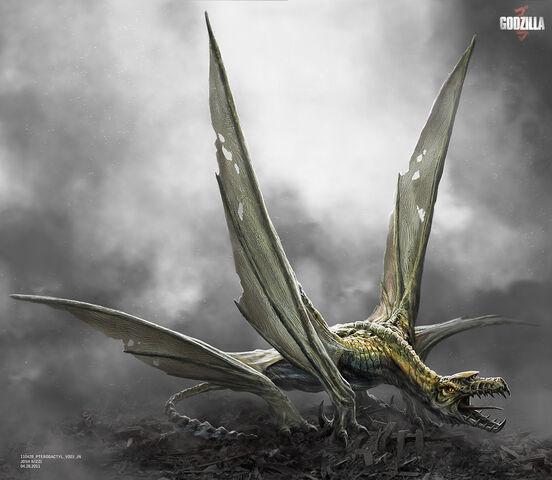 File:Concept Art - Godzilla 2014 - Josh Nizzi Pterodactyl.jpg
