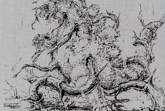File:Concept Art - Godzilla vs. Biollante - Godzilla vs. Biollante 1.png