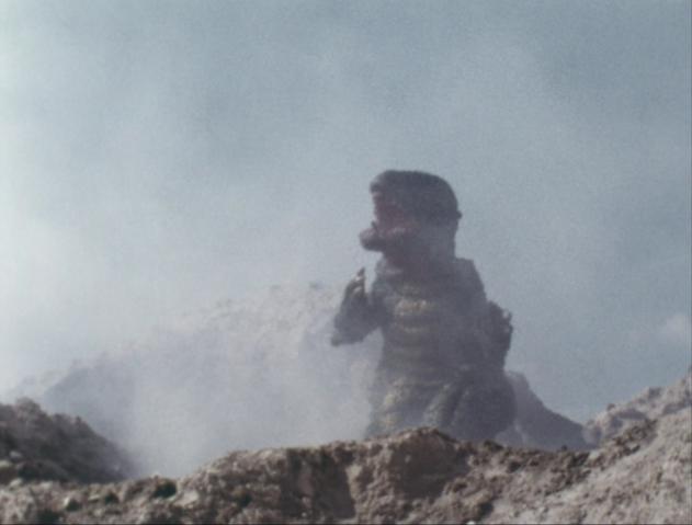 File:Go! Godman - Episode 6 Godman vs. Gorosaurus - 35 - Can't catch me!.png