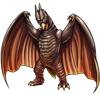 File:Godzilla X Monster Strike - Rodan.png