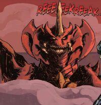 Destoroyah in Hell