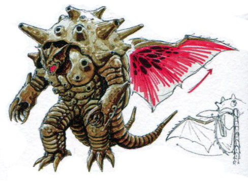File:Concept Art - Mothra vs. Bagan - Bagan 15.png