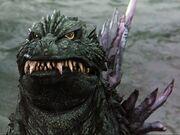 Godzilla 1999 Close-Up