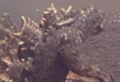 All Monsters Attack - DaisensoGoji appears via stock footage 3