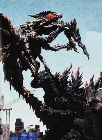 File:GXM - Megaguirus Stings Godzilla.jpg