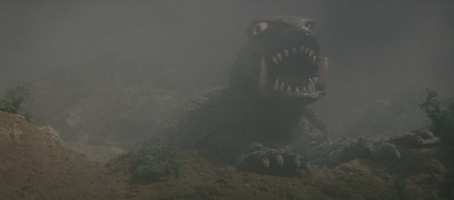 File:Gamera - 3 - vs Gyaos - 4 - Gamera appears.png