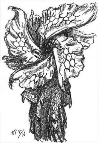 File:Concept Art - Godzilla vs. Biollante - Biollante Rose 2.png